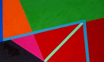 Verdes, rojos, rosa y negro II - Inés Bancalari, Cecilia De Torres Ltd.