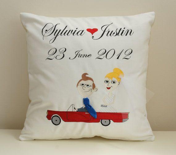 Wedding and anniversary cushion