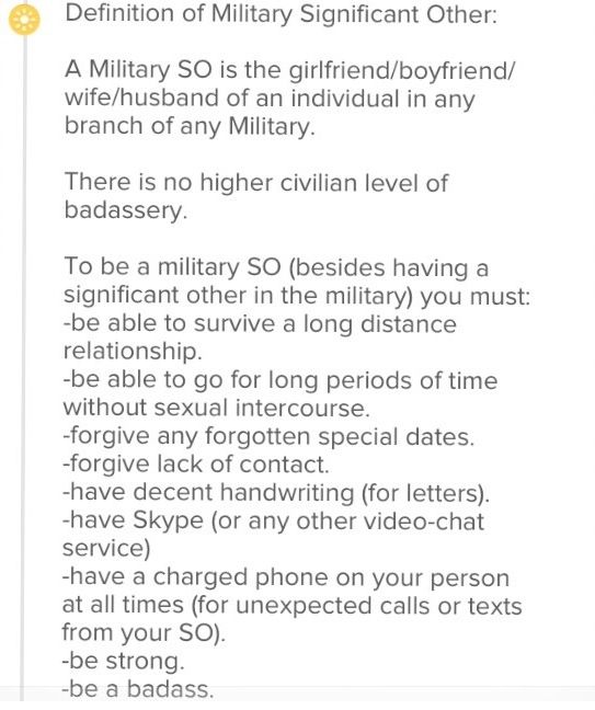 Definition of a Milso. Army Girlfriend / Army Wife