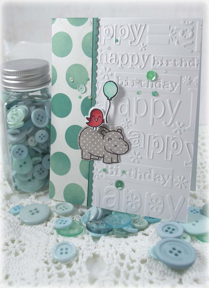 Another Lawn Fawn Birthday Card - Scrapbook.com