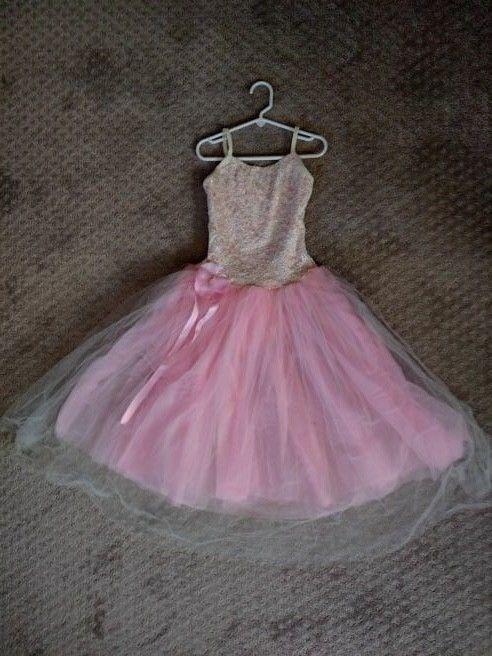 cb85c3c30 Weissman size MC medium child girls ballet lyrical costume light ...