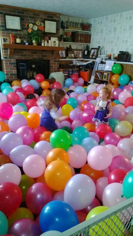 """Balloons, and 21 other cheap ways to occupy Toddlers! Masking tape roads, and 21 other ways to keep Toddlers out of trouble. The """"M"""" word, and 21 other ways to keep toddlers busy, so you can take a break. Pool noodles in the bath, and 21 other ways to keep Toddlers out of trouble! Outdoor fountains, and 21 other things to occupy Toddlers while Preggo! Dry erase boards from the thrift store, and 21 other ideas to keep toddlers busy, while Preggo! Kitchen in a box, and 21 other ways to occupy…"""