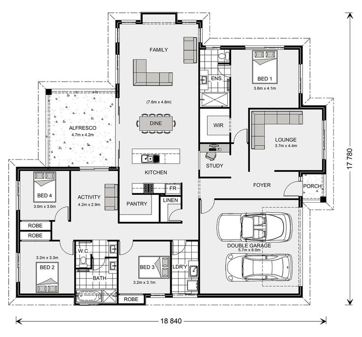 1792 best plans maisons idées images on Pinterest | House floor ...
