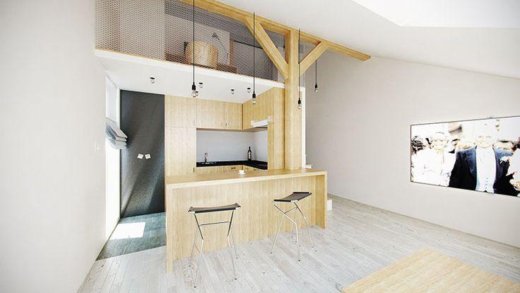 Mieszkanie Marcina i Ani « Architekt Kraków – projektowanie wnętrz, architektura krajobrazu – firma