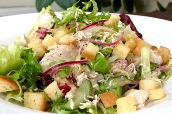 Хрустящий салат «Весна на пороге»: необыкновенно вкусный