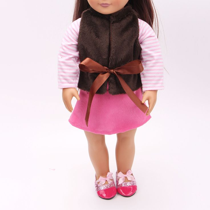 Find More Dolls Accessories Information about 3pcs/set Vest Long Sleeve Mini Skirt Sweet 18 Inch American Girl Doll Clothes Set Children DIY Dress 18 Inch Doll Accessories,High Quality dolls accessories,China 18 inch doll accessories Suppliers, Cheap american girl doll clothes from 100% baby house Store on Aliexpress.com