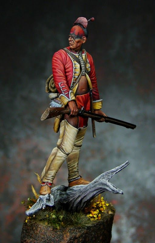 Michigan Toy Soldiers and Historical Miniatures:The French & Indian War 1754–1763