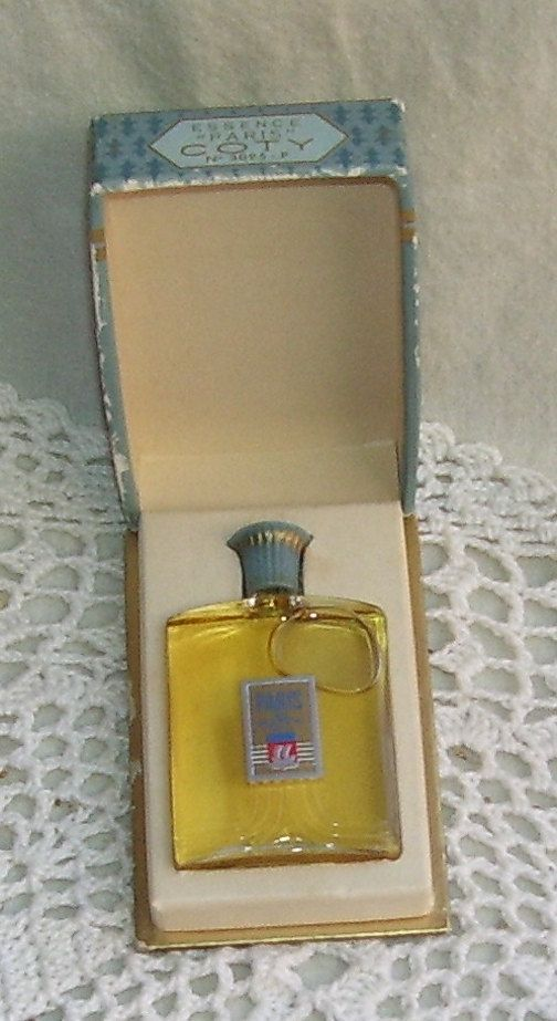 Original Paris De Coty Perfume Bottle In Box Perfume