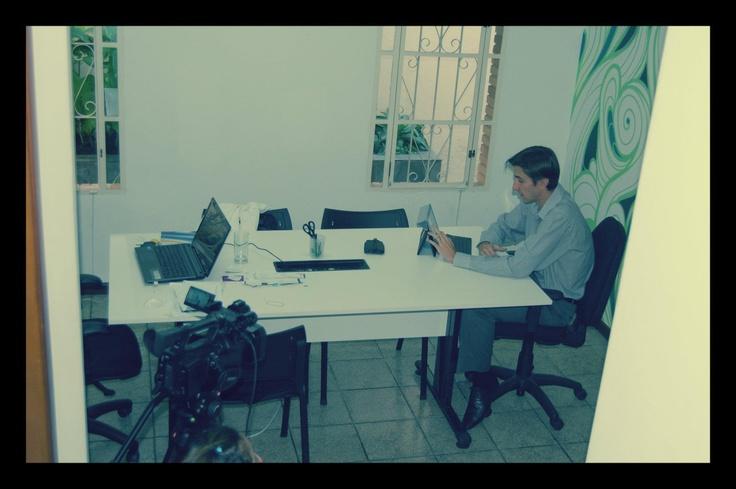 Entrevista para alunos da Anhanguera.