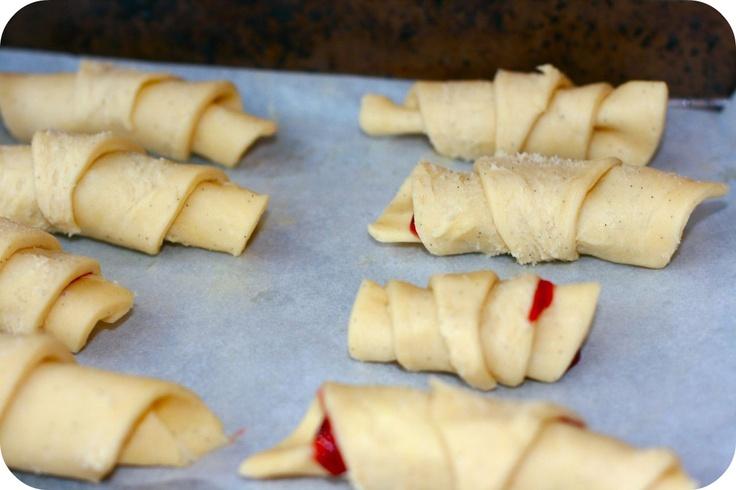 Kiflice - Croatian Jam Biscuits