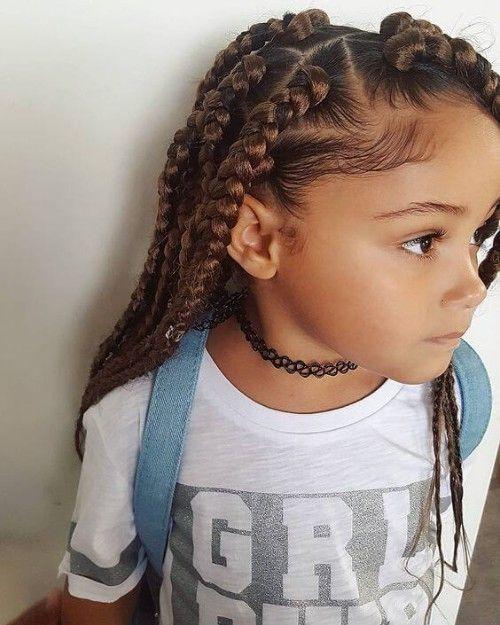 Angelic 23 Box Braids For Lil Girls Kids Braided