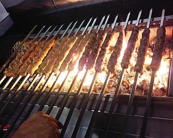 Lamb sheek kebabs