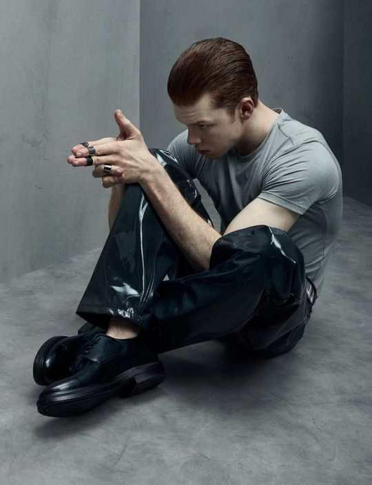 Like I said - - - I'd like to experience the real world of Cameron Monaghan