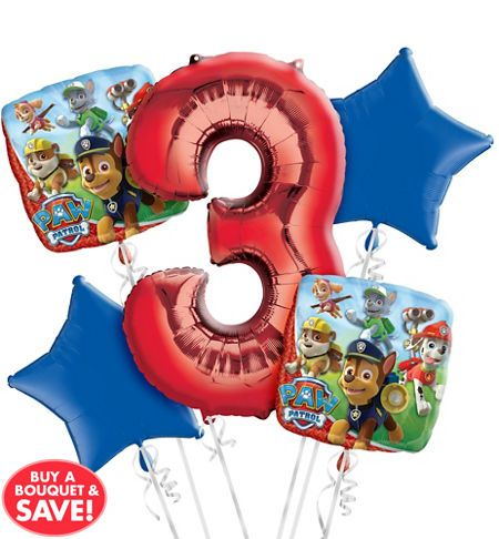 PAW Patrol Balloons - PAW Patrol Birthday Balloons - Party City More