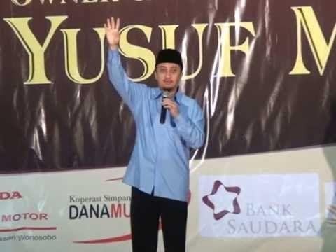 Seminar Motifasi Bisnis VSI Oleh Ustadz Yusuf Mansur di Wonosobo