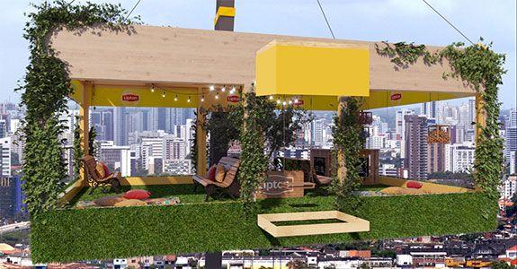 Lipton cria jardim suspenso gratuito em São Paulo – Meio & Mensagem
