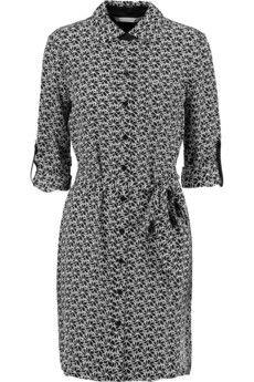 Diane von Furstenberg Prita printed silk shirt dress | THE OUTNET