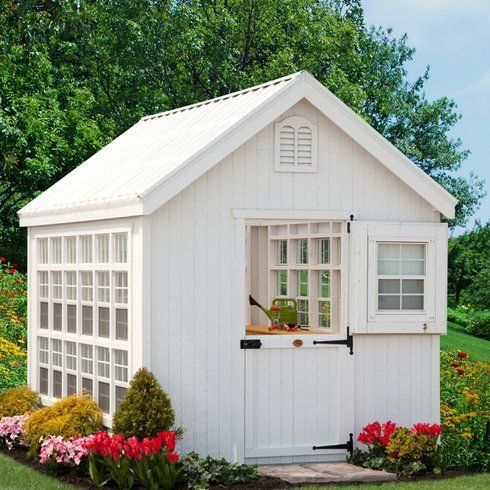 Best Decorating She Shed Images On Pinterest Small Houses