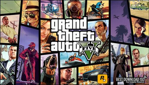 Grand Theft Auto 5 (GTA) - PC Game Torrent Download For Free