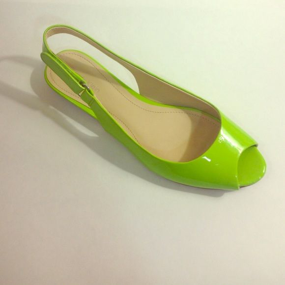 Calvin Klein Jaylin Patent Leather Neon Flats About this item Features Manmade Imported Manmade sole Heel measures approximately Calvin Klein Shoes Flats & Loafers