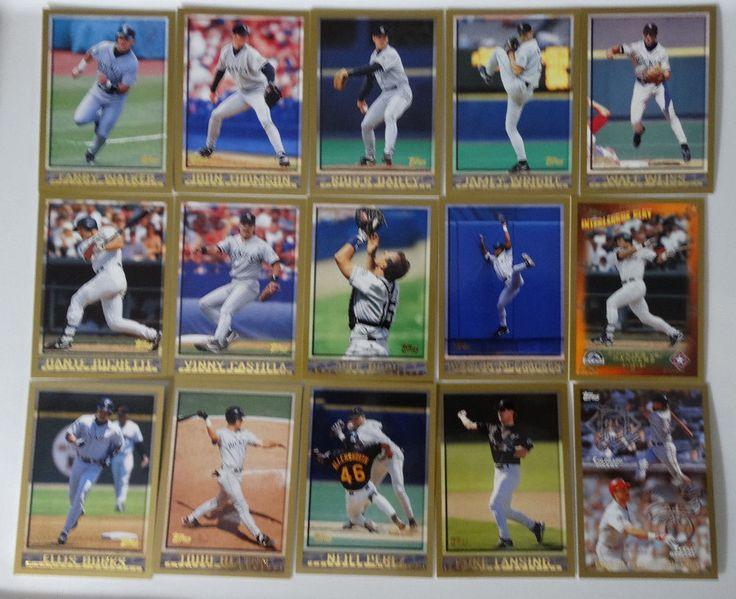 1998 Topps Series 1 & 2 Colorado Rockies Team Set of 15 Baseball Cards #topps #ColoradoRockies