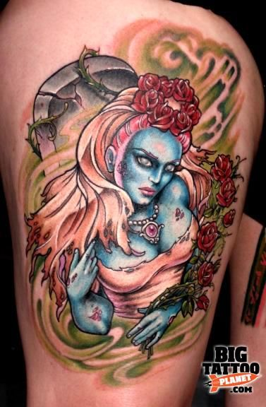 Hannah Aitchison - Colour Tattoo | Big Tattoo Planet