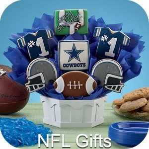 Buy Cookies to show your NFL team spirit this season!