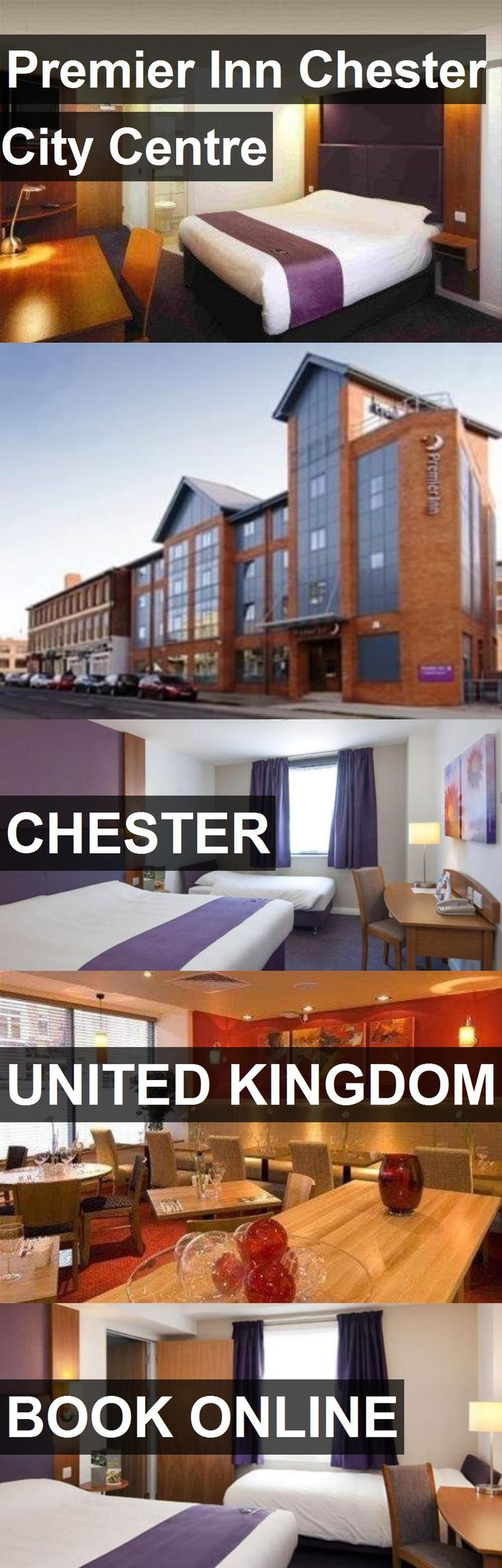 Hotel Premier Inn Chester City Centre in Chester, United Kingdom. For more information, photos, reviews and best prices please follow the link. #UnitedKingdom #Chester #PremierInnChesterCityCentre #hotel #travel #vacation