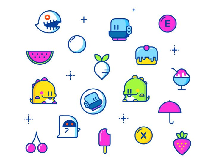 Bubble Bobble Sprites by Jonathan Dahl