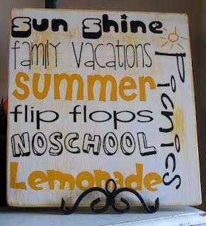 summertime, summertime, sum, sum, summertime inspirational