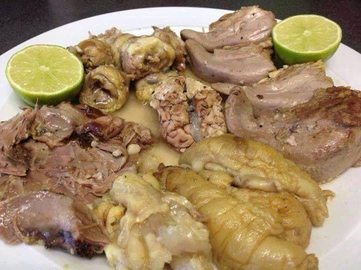 Kale pache for Ahmads persian cuisine