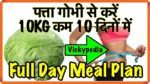 Diet For Weight Loss in 7 Days || Weight loss Soup
