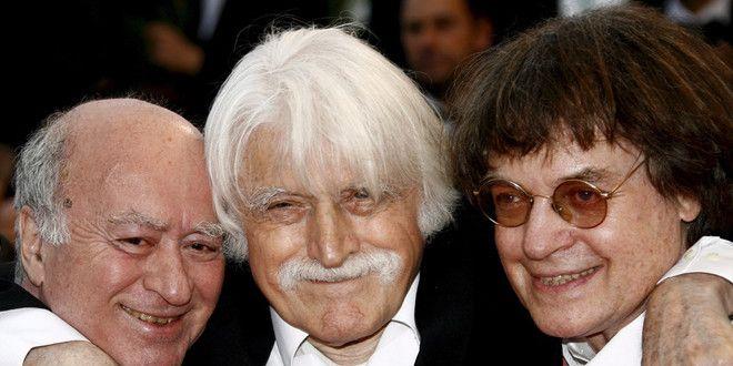 Georges Wolinski, Cavanna et Cabu en 2008