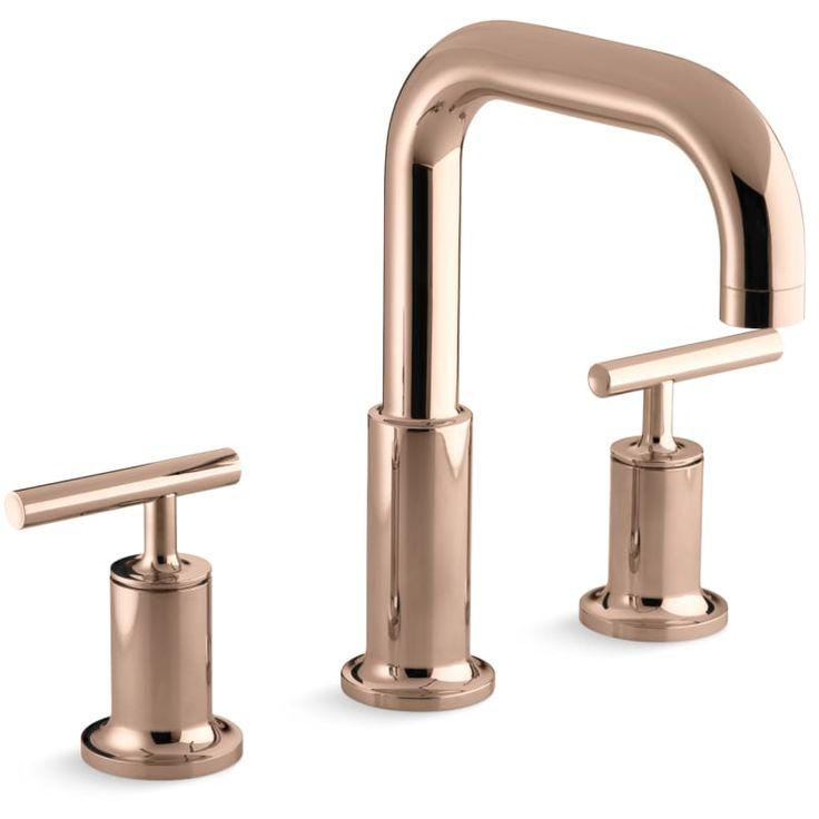 Kohler K T14428 4 Roman Tub Faucets Faucet Kohler Purist