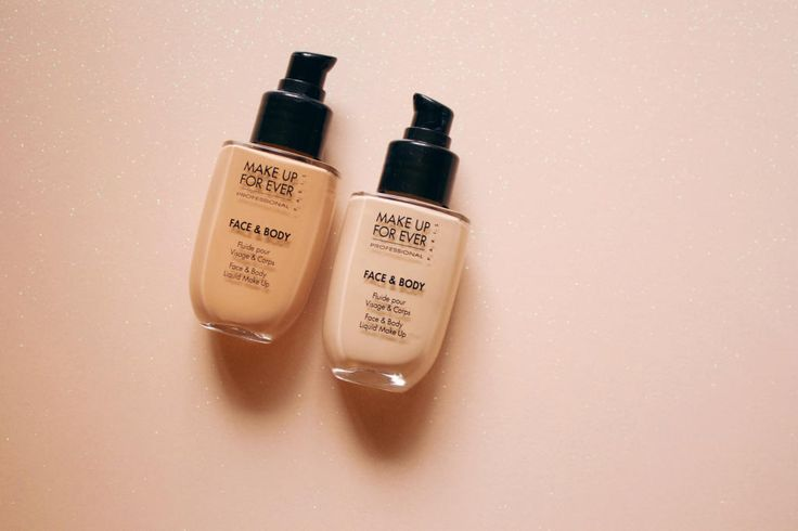 The Best Water-Based Foundation For Buildable, Weightless Coverage. If Make Up For Ever stops making Face & Body, I will cry.