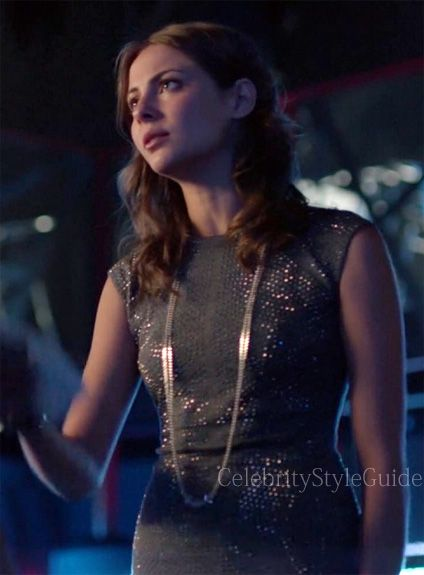Seen on Celebrity Style Guide: Arrow Style and Fashion: Willa Holland, as Thea Queen, wore the Rebecca Taylor Nailhead Dress on Arrow Episode 2.02 Identity