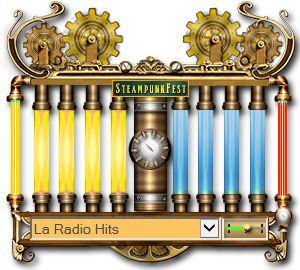 «Steam gear wheel — Color music box» — Интернет-радио , стиль «Steampunk», гаджет для Windows   Gadget for Windows