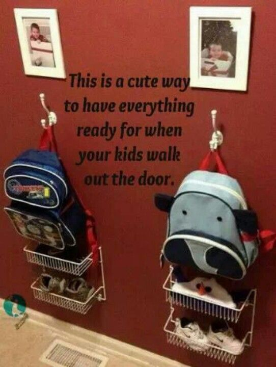 Keep the kids organized.