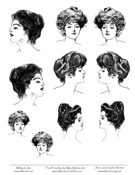 I know it may not be 'The' fashion, however, I would love to do my own twist to the Edwardian hairstyle and wear it.