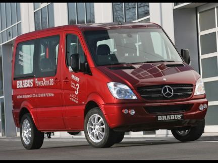 2007 Brabus Mercedes-Benz Sprinter review