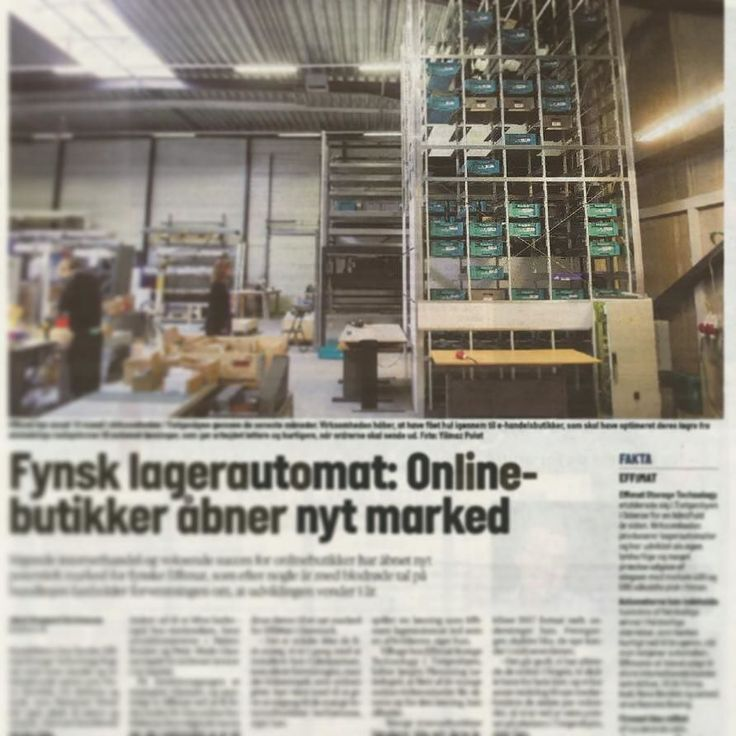 Stigende internethandel og voksende succes for onlinebuttiker har åbnet nyt potentielt marked for fynske Effimat ...// Increasing internet trade and growing success for online shopshave opened a new high potential market for the DanishEffimat storage solution manufacturer ...""