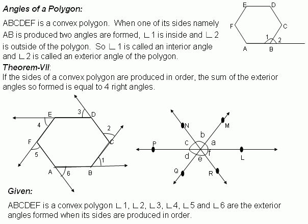 Best 25 exterior angle of polygon ideas on pinterest - Sum of the exterior angles of a triangle ...