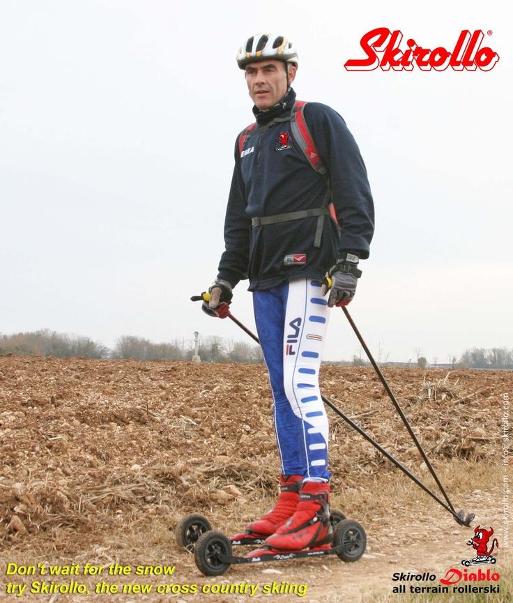 Skirollo Diablo: all terrain rollerskis - www.skirollo.com