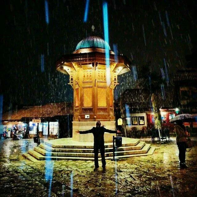 Bosna... Kar havası.... #gezi #tatil #hayat