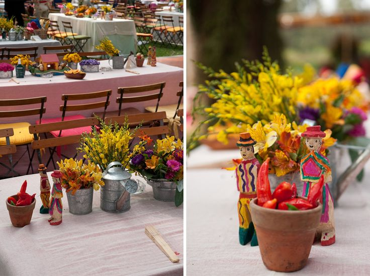 Peruvian-style Centerpieces for your Destination Wedding in PeruSay I Do In Peru | Say I Do In Peru