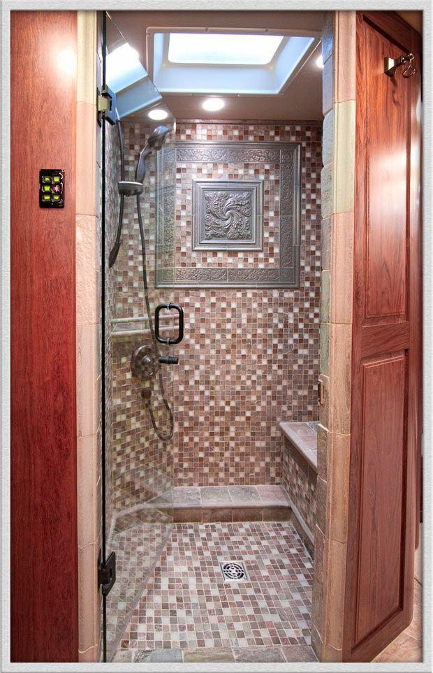 Coolest Bathroom Ever glamorous rv bathrooms | camper remodel progress | pinterest
