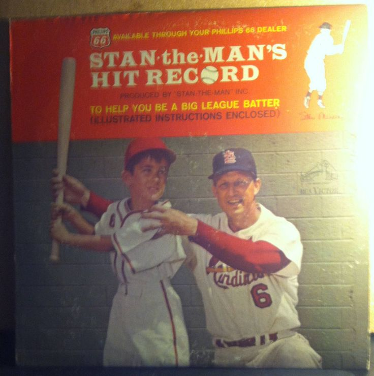 Stan The Man Musial Hit Record Baseball Record Album with 20 Photos by RASVINYL on Etsy