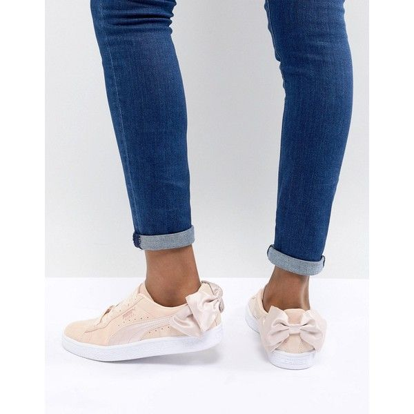Puma Suede Bow Valentines Sneakers In