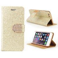 iPhone 6 Hülle Handyhülle Tasche Glitter golden