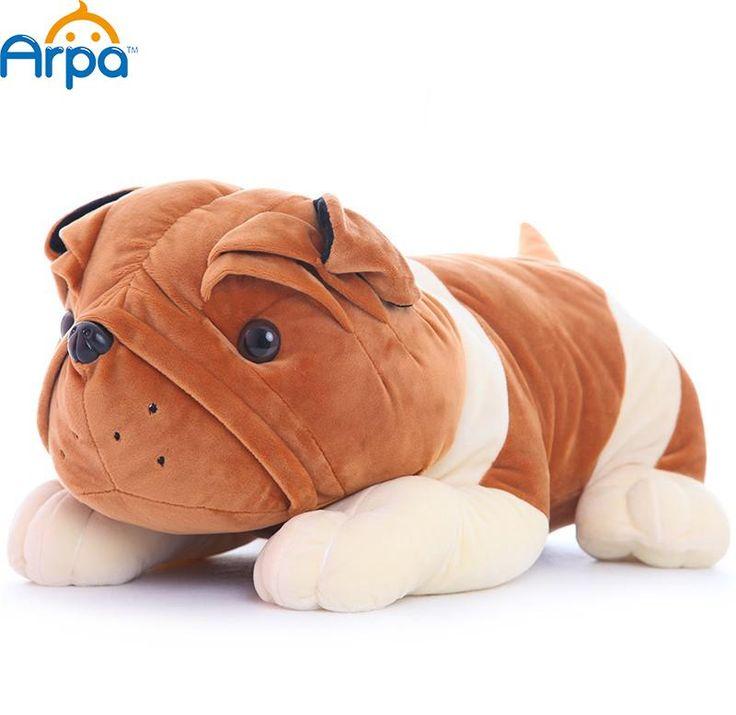 Leuke Pluche Bulldog Pop Liggen Gevoelig Hond Kokkel Kussen Speelgoed Peuter…